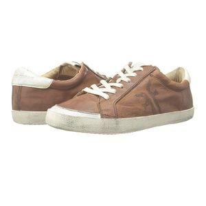 Frye Dylan Low Lace Vintage Fashion Sneaker Sz 8.5